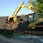 excavating towson