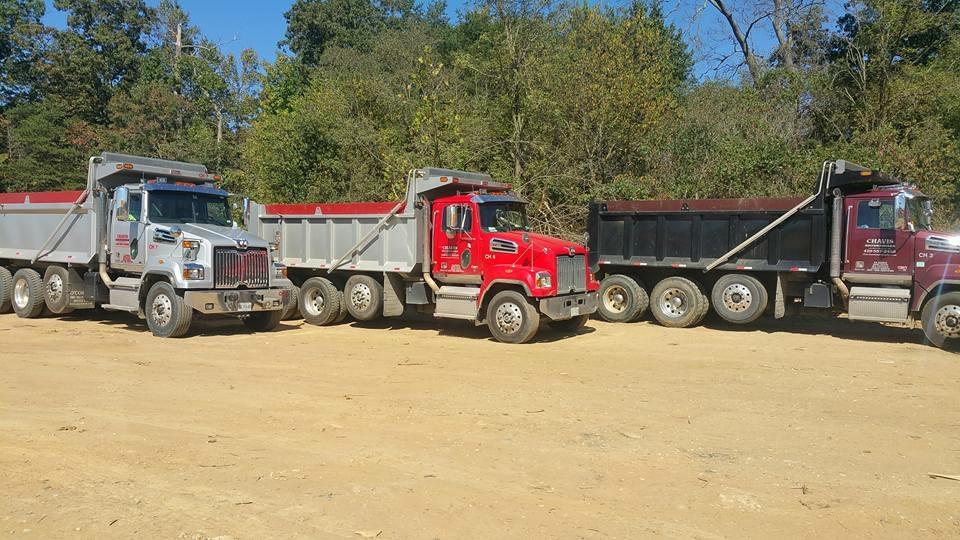Harford County hauling service fleet