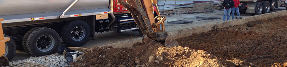 backhoes and excavators available