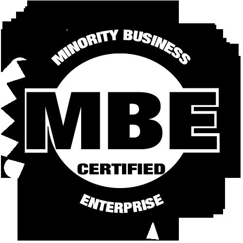 MBE certification logo for Chavis Enterprises